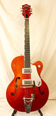 Used Gretsch 06 Brian Setzer 6120SHT Hot Rod Guitar Tangerine Bigsby TV OHSC
