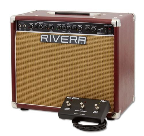 Rivera Chubster 40 1x12 Combo Amp Red