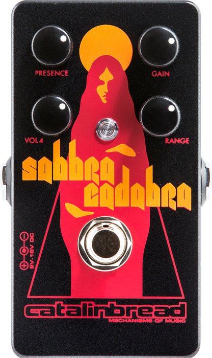 Catalinbread Sabbra Cadabra Distortion Treble Boost Pedal