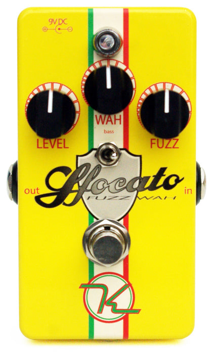Keeley Sfocato Fuzz Wah Guitar Effects Pedal Guitar Effect Pedal