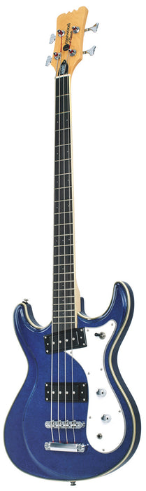 Eastwood Sidejack Bass 32 - Metallic Blue