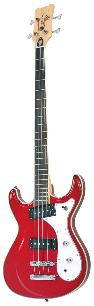Eastwood Sidejack Bass 32 - Metallic Red
