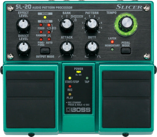 Boss SL-20 Slicer Pedal Audio Pattern Processor Effect Pedal