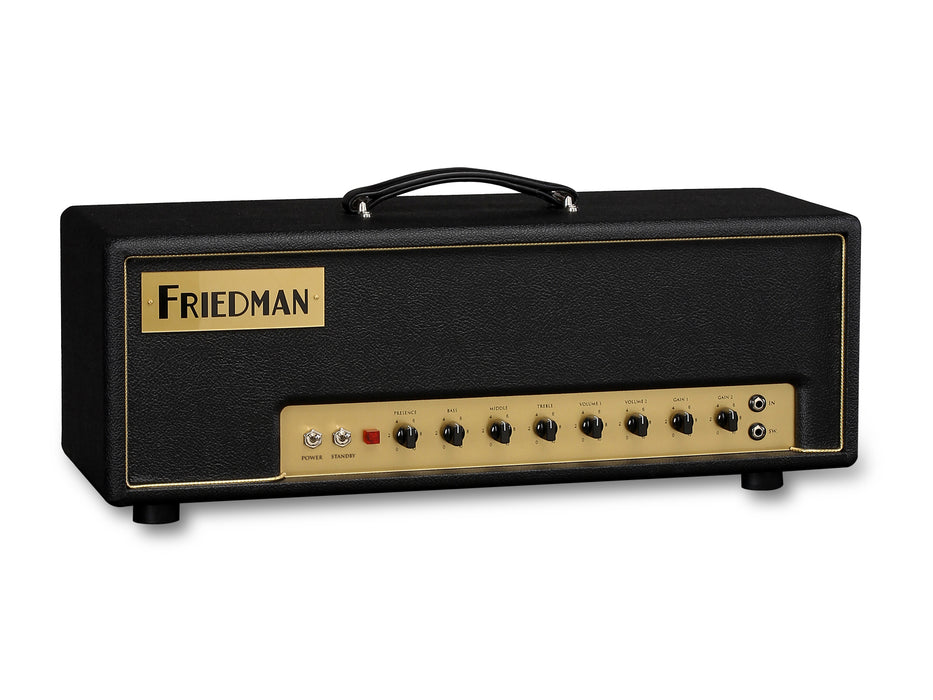 Friedman Small Box 50-watt 2-channel Tube Guitar Amp Head