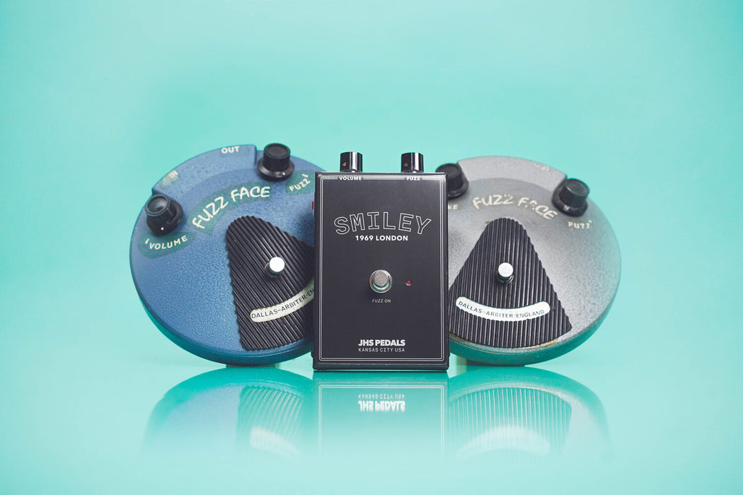 JHS Legends of Fuzz Series Smiley Fuzz Guitar Pedal