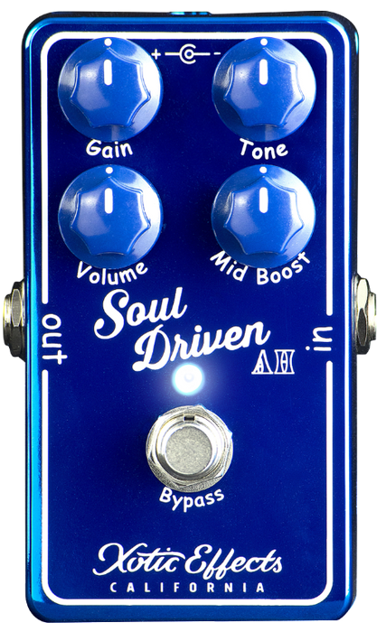Xotic Limited Edition Soul Driven AH Allen Hinds Overdrive Pedal Guitar Pedal