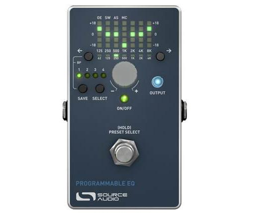 Source Audio Programmable EQ Guitar Effect Pedal