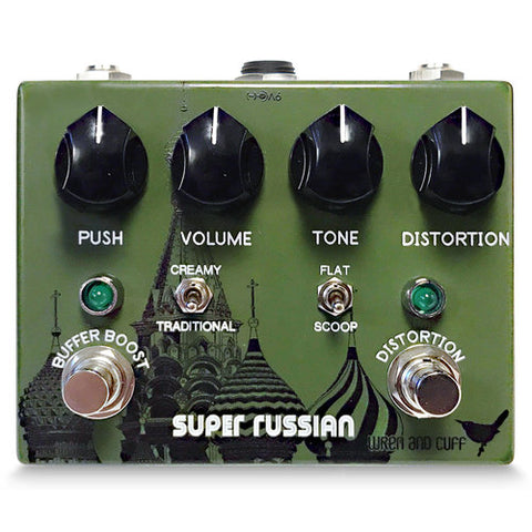 Wren and Cuff Super Russian Fuzz Guitar Effect Pedal