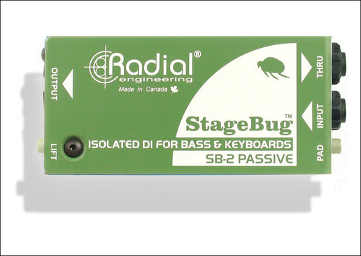 Radial Engineering StageBug SB-2 Passive Direct Box