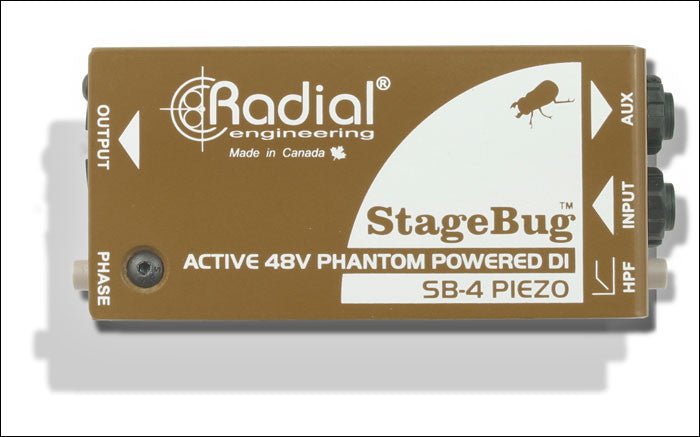 Radial Engineering StageBug SB-4 Piezo DI Direct Box