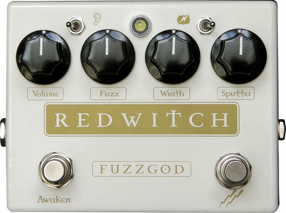 Red Witch Fuzz God II Fuzz Pedal Guitar Effect Pedal RedWitch