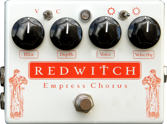 Red Witch Empress Chorus Vibrato Pedal Guitar Effect Pedal RedWitch