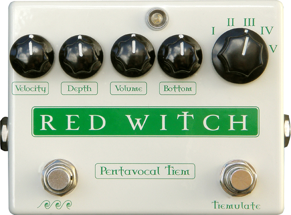 Red Witch Pentavocal Tremolo Pedal Guitar Effect Pedal