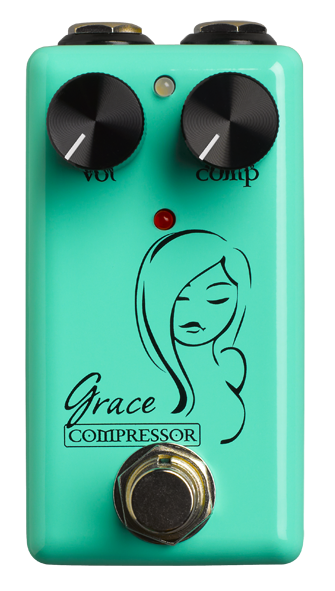Red Witch Grace Compressor Pedal Guitar Effect Pedal