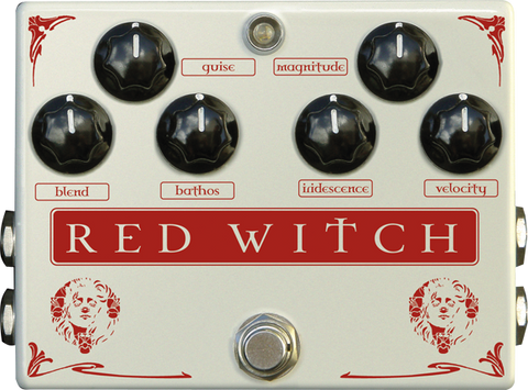 Red Witch Medusa Chorus Tremolo Pedal Guitar Effect Pedal RedWitch