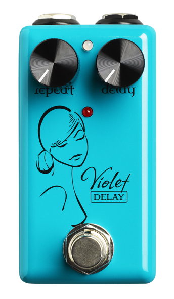 Red Witch Violet Delay Pedal Guitar Effect Pedal