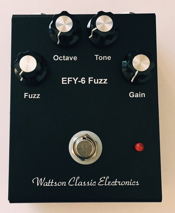Wattson FX EFY-6 Superfuzz Pedal Small Enclosure