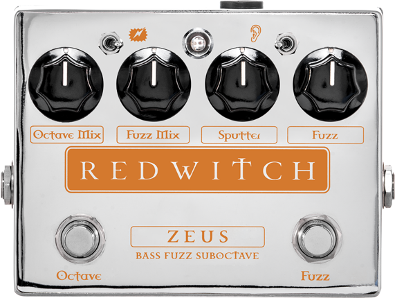 Red Witch Zeus Bass Fuzz Suboctave Guitar Effect Pedal
