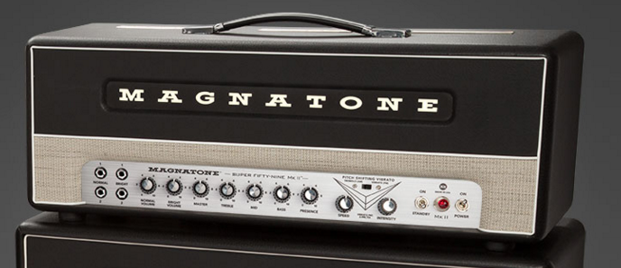 Magnatone Super '59 Mk II Black EL-34 Tube Guitar Amp Head