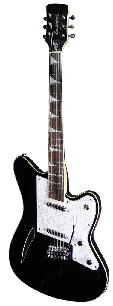 Eastwood Surfcaster Guitar - Black