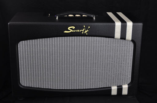 Swart Antares Creamback Twin 6V6/6L6  3-way EQ Tube Reverb/Tremolo Combo Guitar Amplifier Black Racer