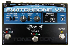 Radial Switchbone V2 ABY/C Amp Selector and Booster