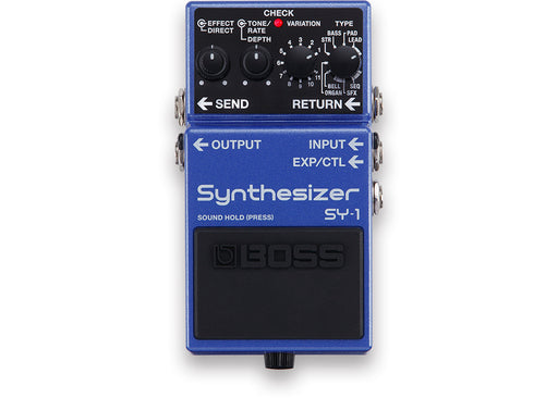 Boss SY-1 Synthesizer Guitar Effect Pedal