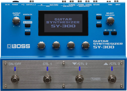 Boss SY-300 Guitar Synthesizer Processor Effect Pedal
