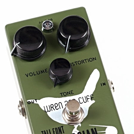 Wren and Cuff Tall Font Russian Fuzz Guitar Effect Pedal