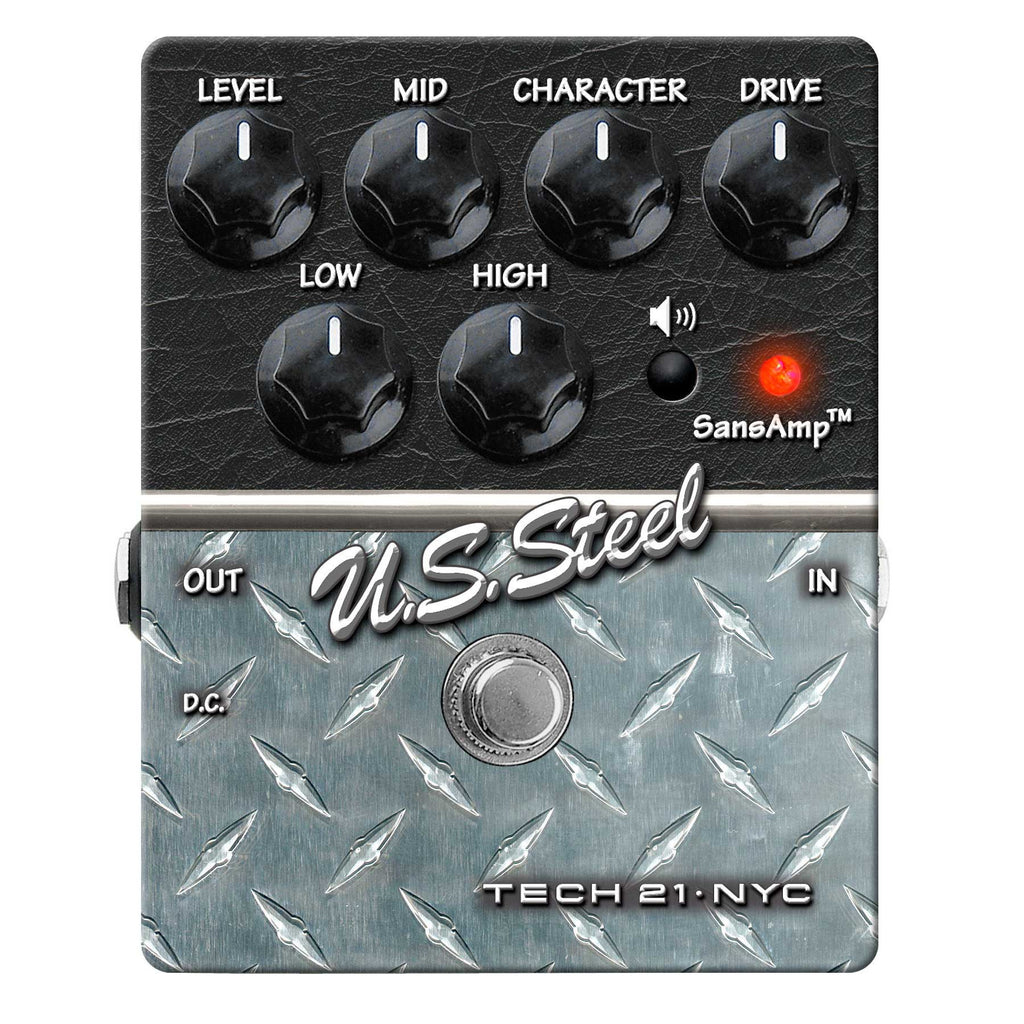 Tech 21 US Steel Distortion Pedal