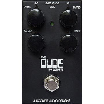 J Rockett Audio Designs Tour Series The Dude Overdrive Guitar Effect Pedal