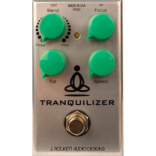 J Rockett Audio Designs Tour Series Tranquilizer Phaser Guitar Effect Pedal