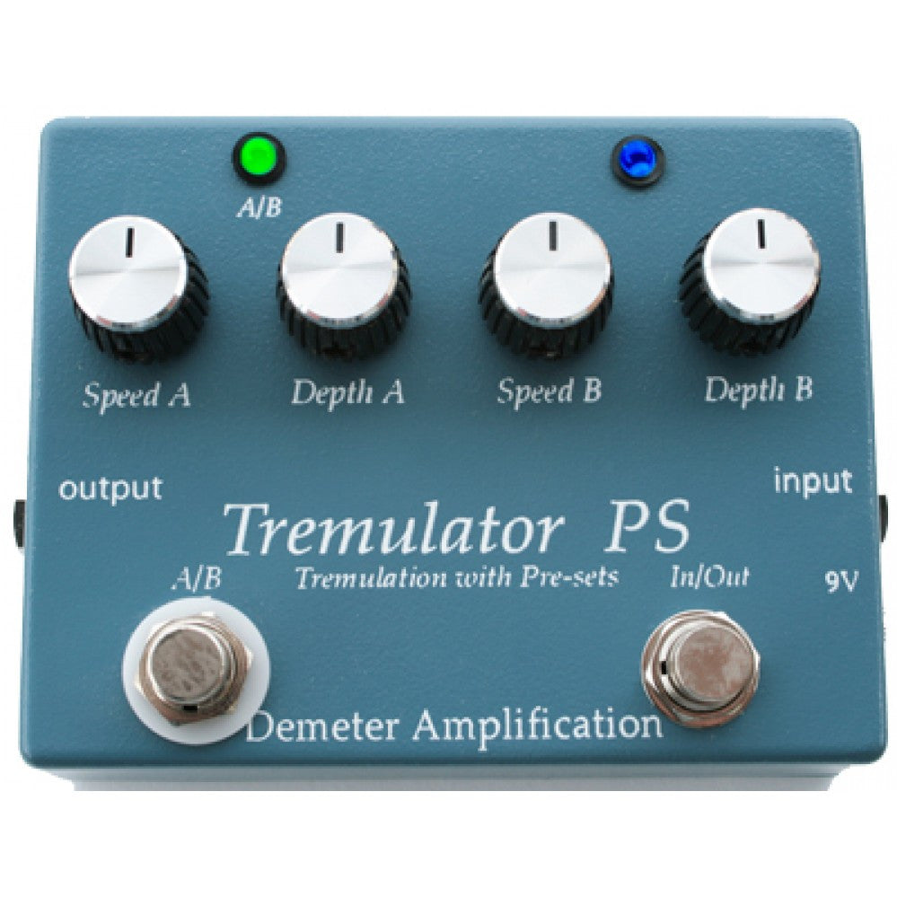Demeter TRM-PS Tremulator Tremolo With Presets Guitar Pedal