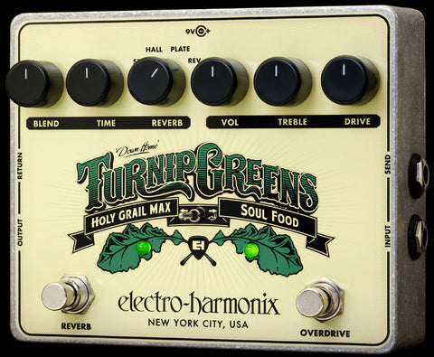 Electro Harmonix Turnip Greens Multi-Effect Guitar Pedal