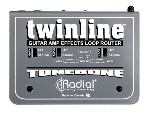 Radial Twinline Effects Loop Router