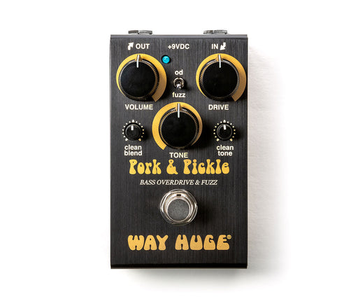 Way Huge WM91 Pork And Pickle Bass Overdrive Fuzz Bass Guitar Effect Pedal