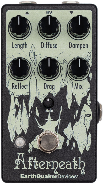 Earthquaker Devices Afterneath V3 Reverb Guitar Effect Pedal