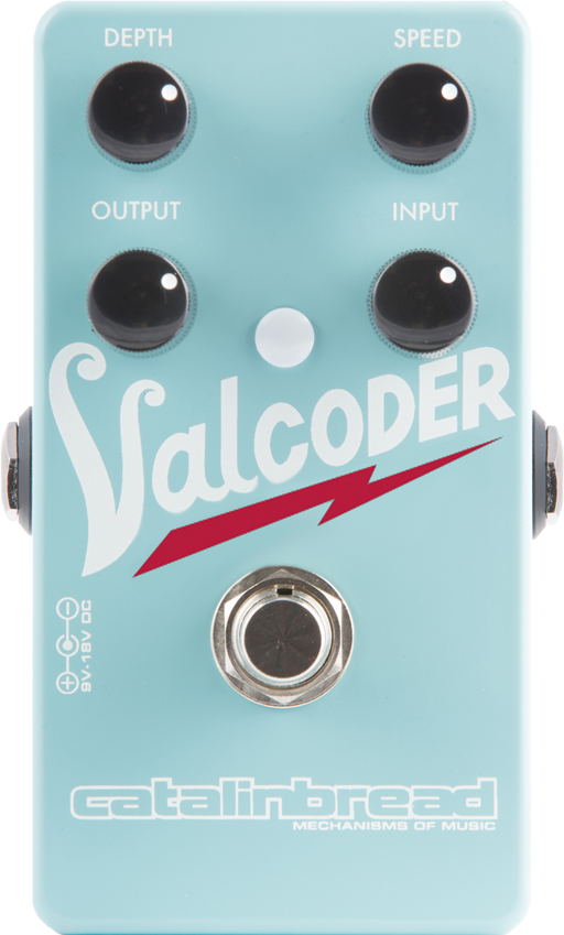 Catalinbread Valcoder Mid 60's Valco-style Dirty Garage Tremolo Pedal