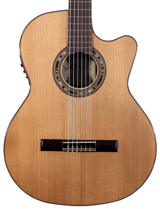 Kremona Performer Series Verea Solid Cedar Top Nylon String Classical Acoustic Electric Guitar With Bag