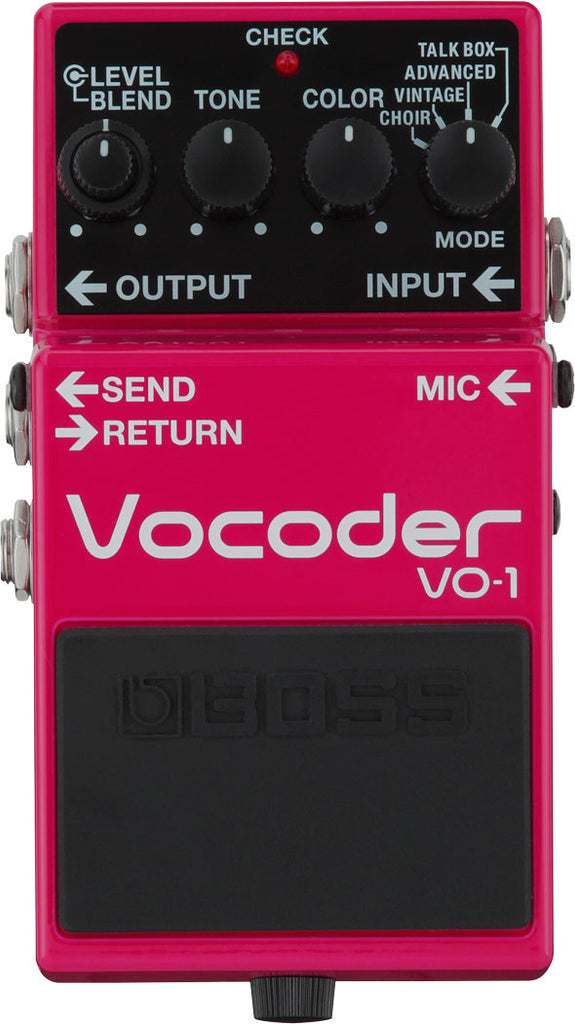 Boss VO-1 Vocoder Vocal Effect Pedal