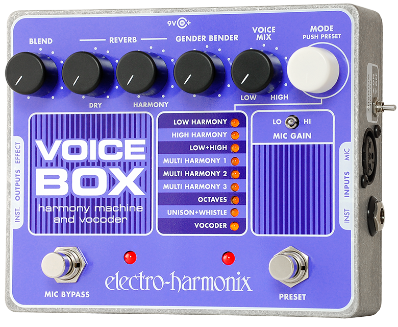 Electro Harmonix Voice Box Vocal Harmony Machine/Vocoder Guitar Pedal