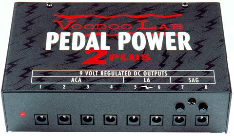Voodoo Lab Pedal Power 2 Plus Multi Power Supply
