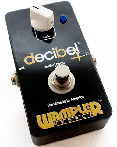 Wampler Decibel Plus Boost/Buffer Guitar Effect Pedal