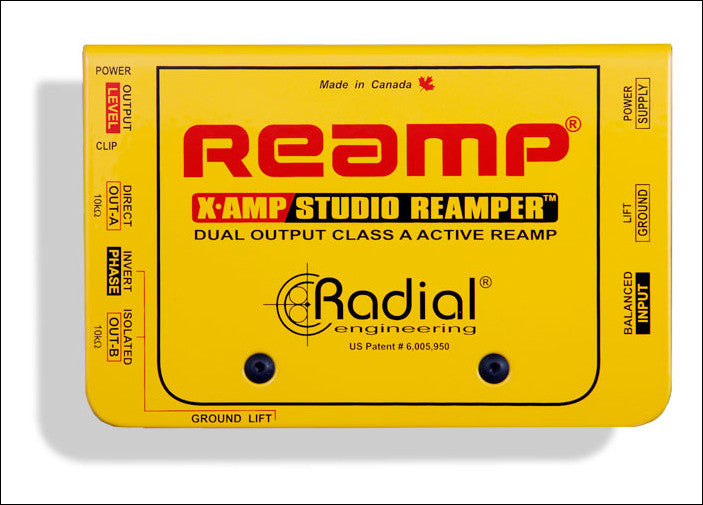 Radial Engineering X-Amp Active Re-Amper