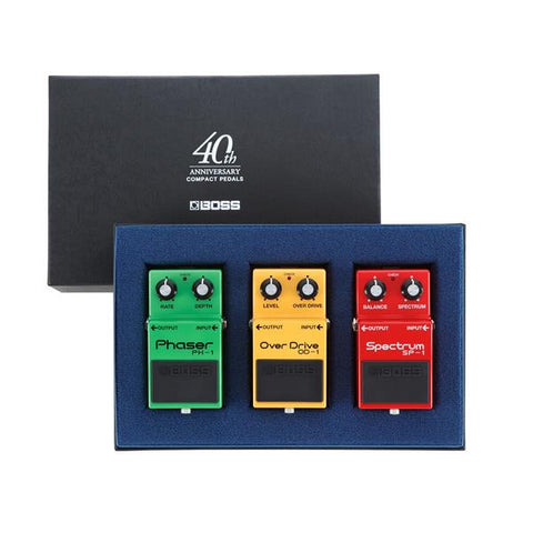 Boss BOX-40 40th Anniversary Box Set Guitar Effect Pedals