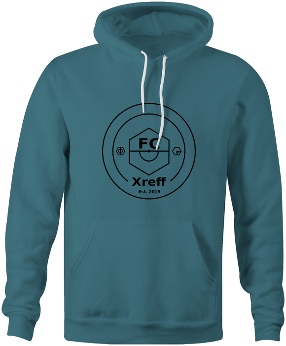 FC Xreff Pullover Hoodie - Forest Green