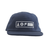 Xreff Symbolize/ Navy Blue 5-Panel Cap