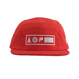 Xreff Symbolize/Red 5-Panel Cap