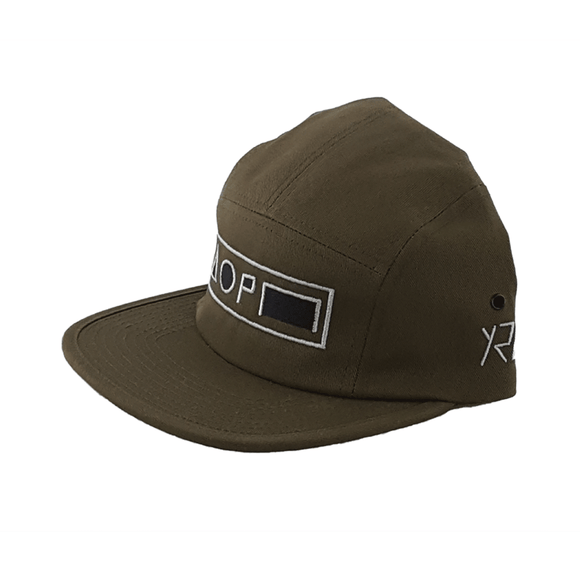 Xreff Symbolize/ Olive Green 5-Panel Cap