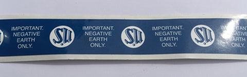 SU sealing tape negative